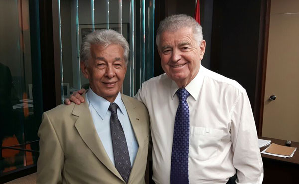 China se encontrou com o Deputado Federal Nelson Marquezelli (Fotos: Divulgação)