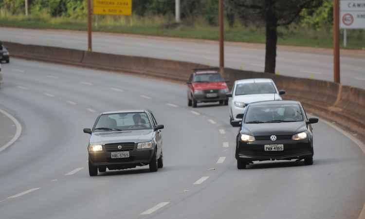 Reunião foi motivada por dúvidas dos motoristas e por decisões de outros estados (foto: Gladyston Rodrigues/EM/D.A PRESS)