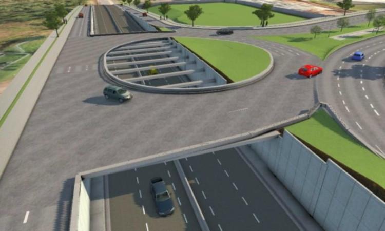 Estrada será duplicada em Cuiabá. Foto:Divulgação/Sinfra-MT