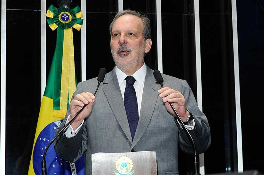 Senador Armando defende vocação logística de Pernambuco (Foto:Waldemir Barreto/Agência Senado)