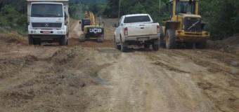 Estradas de assentamentos em Rondônia recebem obras