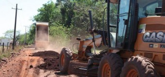 Foz do Iguaçu faz recuperação em estradas rurais