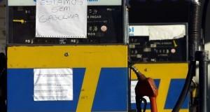 Protesto começa a prejudicar fornecimento de combustíveis