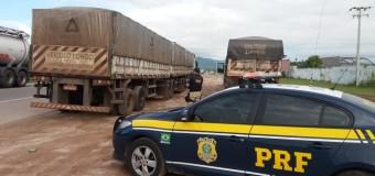 Operação da PRF multa 140 caminhões com cargas superdimensionadas no Ceará