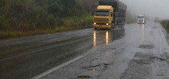 Chuvas aumentam problemas em rodovias no Vale do Rio Pardo