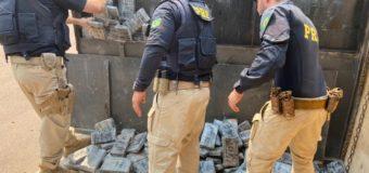 R$180 milhões é o prejuízo ao crime organizado gerado pela apreensão de cocaína pela PRF em MT